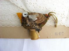 The Citrus Bird by Baggaraggs on Etsy