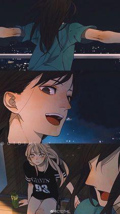 Anime Girlxgirl, Yuri Anime, Kawaii Anime Girl, Anime Art Girl, Manhwa, Citrus Manga, Bl Webtoon, Comic Frame, Manga Story