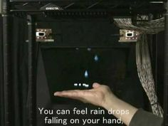 """We will present """"Touchable Holography"""" at SIGGRAPH 2009 Emerging Technologies."""