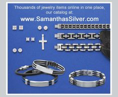 Mens Fashion Jewelry Online Catalog. Use VENDOR CODE:  AFF9965 at checkout!