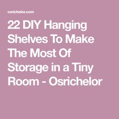 22 DIY Hanging Shelves To Maximize Storage in a Tiny Space via Place of Taste // New Blooming // ADC Even those of us Hanging Rope Shelves, Diy Hanging Planter, Succulent Planter Diy, Wooden Plates, Wooden Boxes, Leather Strap Shelves, Cement Table, Vertical Storage, Amber Interiors