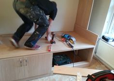 kenamp: Box room furniture Bedroom Lewis Testing Weight Of Cabin Bed Real Room Designs Bespoke Fitted Furniture For Box Room Bedroom Storage Boxes, Box Bedroom, Room Ideas Bedroom, Small Room Bedroom, Urban Outfitters Room, Small Studio Apartment Design, Carved Beds, Childrens Bunk Beds, Double Bed Designs