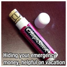DIY money holder