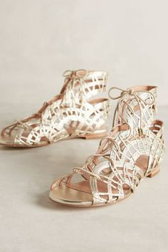 Joie Renee Sandals - anthropologie.com I have a pair similar great for festi season. -tdf