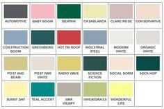 Mid Century Color Palette