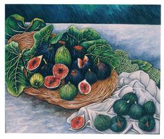 Renato Guttuso(1912ー1987 an Italian painter)「Natura Morta」