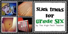 The High-Tech Teacher: Slick Tricks for Grade Six: Writing Resource Notebook!! Hours of research and work PLUS picture books to correspond! :)