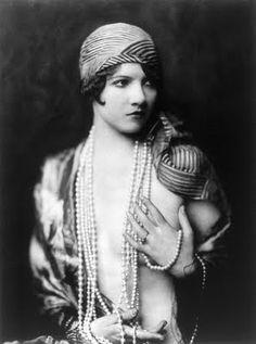 Ziegfeld Follies Girl, 1920.