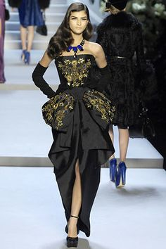 Christian Dior Fall 2007 Ready-to-Wear Fashion Show - Katarina Ivanovska