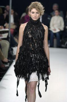 John Rocha SS02 #fashion #rtw #womenswear #leather