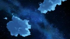 night sky anime - Buscar con Google