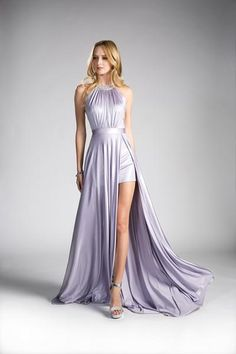 Long Chiffon Halter Dress With Sexy Leg Split Style We present to you this sexy long chiffon halter dress with a stunning leg split. One of our many fabulous new styles for our 2018 prom collection at Norma Reed! Long Sleeve Evening Dresses, Long Evening Gowns, Hot Dress, Special Occasion Dresses, Sexy Legs, Prom Dresses, Formal Dresses, Neckline, Bodice
