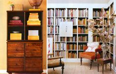 built in bookcases...I am drooling!