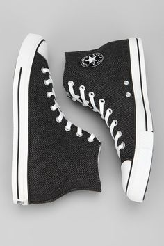 Converse Chuck Taylor All Star Herringbone High-Top Sneaker  #UrbanOutfitters