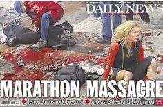 The cover of the New York Daily News photoshopped a badly injured ankle to make it less bloody. Read More here: http://www.imediaethics.org/News/3883/Nydaily_news_defends_photoshopping_boston_marathon_pic__nypost_stands_by_front-page_photo_of_non-suspects.php