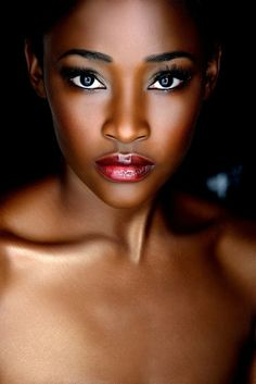 images of pretty makeup for black women | Important tip- When choosing lipstick, you should go for shades that ...