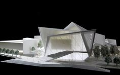 Malmo Concert Hall Studio Daniel Libeskind: