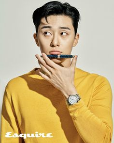 Park Seo-joon in Esquire Korea modeling Montblanc automatic watches Joon Park, Park Hyung, Seo Kang Joon, Asian Actors, Korean Actors, Song Joong, Sung Kyung, Kdrama Actors, Lee Jong Suk