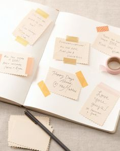 Washi Tape Wishes for the Baby + Parents-to-Be