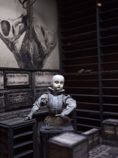 "Morbid Anatomy: Quay Brothers Retrospective in New York City! ""On Deciphering the Pharmacist's Prescription for Lip-Reading Puppets,"" Museum of Modern Art, NYC"