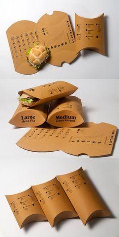 Resultado de imagen de food design take away