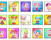 LALALOOPSY Scrabble tiles 75 x 83 rounds graphics for by tszone. $2.15, via Etsy.