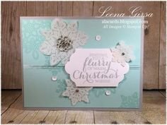 A La Cards: Flurry of Christmas Cards