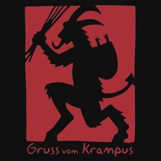 Gruss vom Krampus by DedeFill-Store