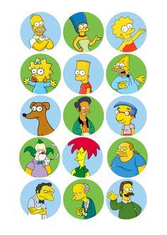 Página 1 de 8 Simpsons Birthday, Simpsons Party, Bolo Simpsons, The Simpsons, Bart Simpson, Digital Foto, Simpson Wallpaper Iphone, Office Birthday, Bottle Cap Crafts