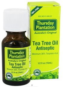 Tea Tree Oil. We use this right after waxing or plucking to prevent breakouts. #goopdo