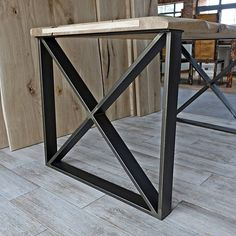 Items similar to Set of Two X Metal Table Legs, Metal Legs, Steel Table Legs, Modern Table Legs, Industrial Metal Table Legs on Etsy Iron Table Legs, Furniture Legs, Entryway Tables, Dining Table, Retro, Steel, Home Decor, Decoration Home, Room Decor