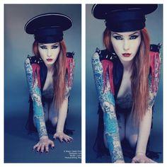Leanne James Alternative UK Model