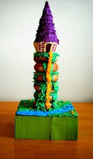 Tangled Tower with bagels