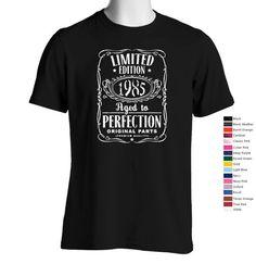"""T-shirt """"édition limitée 1985"""" ;-)"""