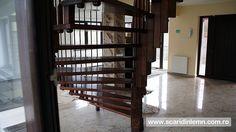 scari interioare din lemn pe vang, cu trepte de lemn suspendate pe corzi, pret Divider, Room, Furniture, Home Decor, Cabin, Bedroom, Decoration Home, Room Decor, Rooms