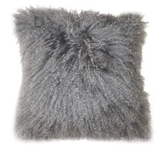 Moe's Home Collection Lamb Fur Wool Pillow | AllModern