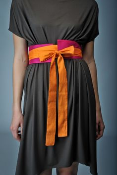 Tunic with belt