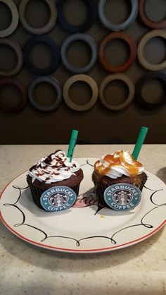 Starbucks frappe cupcakes