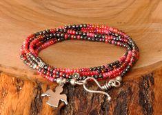 Melek Figürlü Hematit Taşlı Gümüş Bileklik  Zet.com'da 140 TL Beaded Bracelets, Jewelry, Fashion, Moda, Jewlery, Jewerly, Fashion Styles, Pearl Bracelets, Schmuck