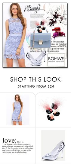 """""""ROMWE 2"""" by woman-1979 ❤ liked on Polyvore featuring Smashbox and WALL"""