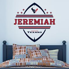 Houston Texans Light switch wall plates covers NFL room decor ...