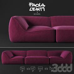So Sofa by Paola Lenti