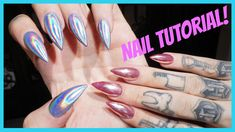 CHROME amp; HOLOGRAPHIC NAILS: Step by Step Tutorial | Jeffree Star HEY BEAUTY KILLERS! Today I invited my nail tech over to show you all how to get the latest nail trends that have been flooding the internet! The coveted