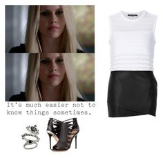 Rebekah Mikaelson - The Originals by shadyannon on Polyvore featuring polyvore fashion style Thakoon River Island L.A.M.B. Elite clothing
