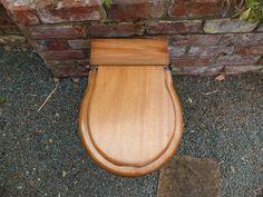 Antique Wooden High Level Toilet Seat + Lid – DragonQuarry Antiques & Restoration