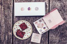Raspberry Black Bean Brownies with Primrose // Moon Cycle Bakery