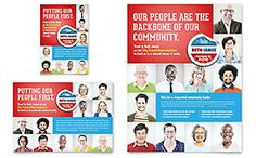 Political Candidate - Flyer & Ad Template