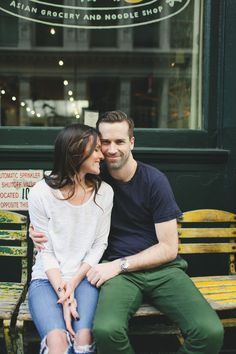 West Village, New York City Engagement from Veronica Lola Photography Read more - http://www.stylemepretty.com/new-york-weddings/2013/08/30/west-village-new-york-city-engagement-from-veronica-lola-photography/
