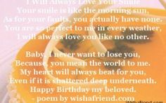 Love Quotes For Your Girlfriend On Her Birthday