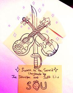 "jeffliujeffliu: ""Sworn to the Sword! Storyboards by Joe Johnston and me! Tonight at 6PM! """